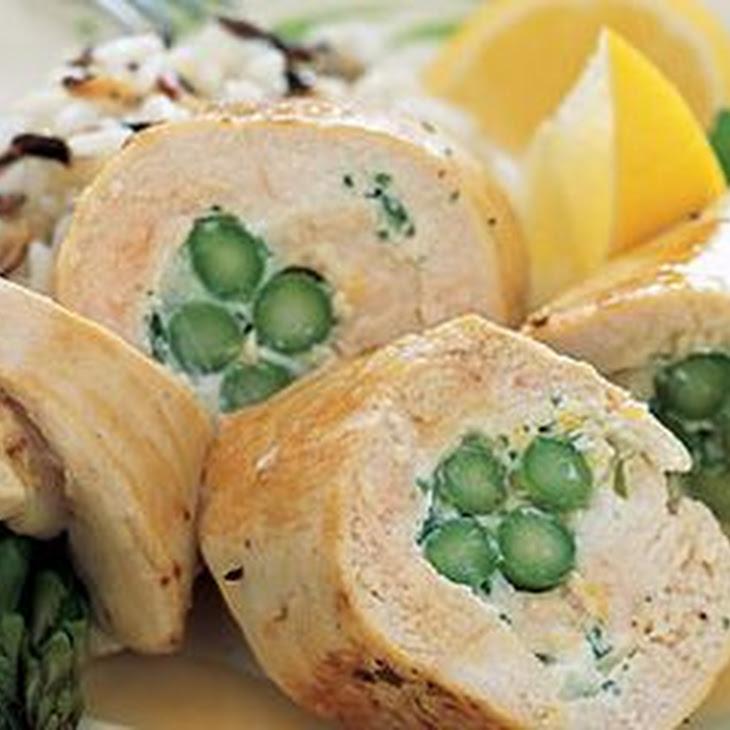 Asparagus-Chicken Roulades Recipe