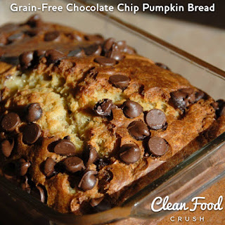 AMAZING Grain-Free Chocolate Chip Pumpkin Bread