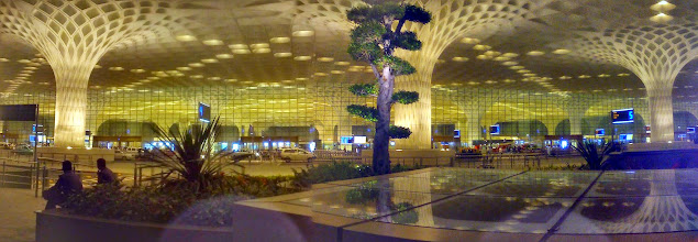 Photo: Travellers, get ready for the new Mumbai Chhatrapati Shivaji International Airport!! Back in 2001 when I visited India for the first time, I could never imagine that some day she will welcome us this way!! 3rd May updated (日本語はこちら) -http://jp.asksiddhi.in/daily_detail.php?id=530