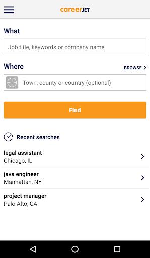 Jobs - Job Search - Careers Screenshots 1