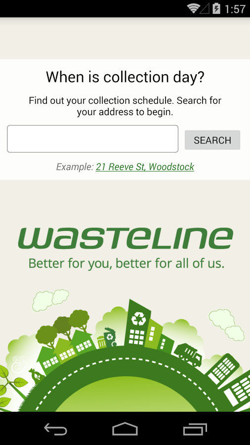Oxford County Wasteline- screenshot