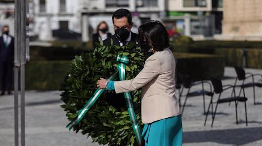 Los sanitarios andaluces reivindican más inversión en su homenaje por el 28F