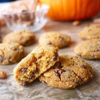 Paleo Pumpkin Pie Chocolate Chip Cookies (GF).