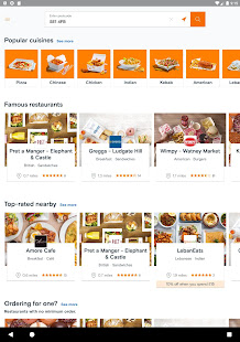 Download Just Eat UK - Takeaway Delivery For PC Windows and Mac apk screenshot 7