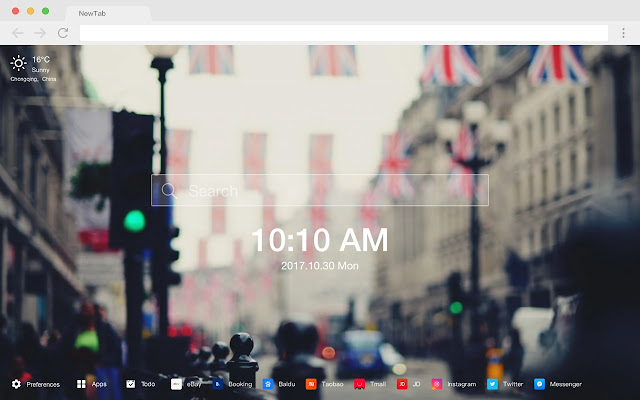 London HD Popular Cities New Tabs Themes