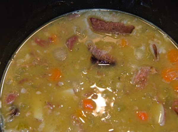Simmering in the pot