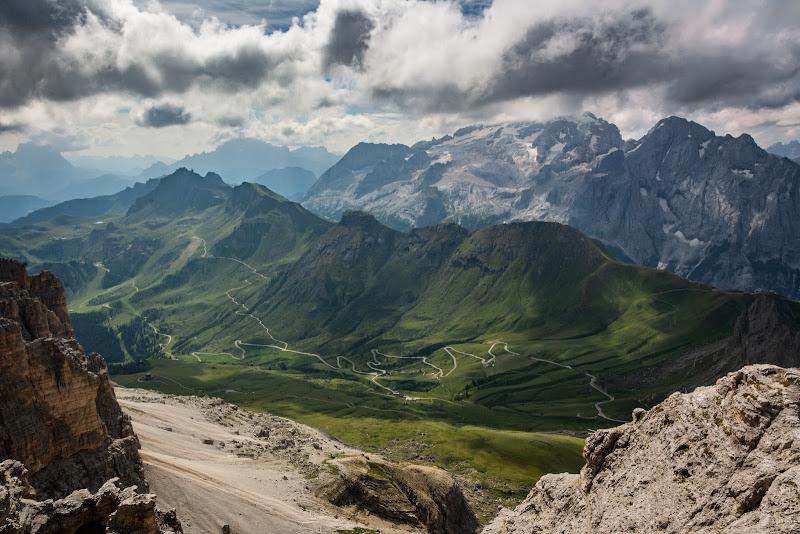 Road to Arabba di Francesco Cecconello