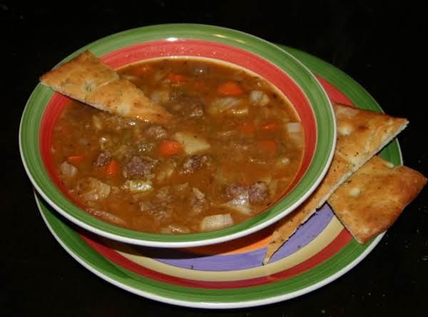 Elk Vegtable Stew Recipe