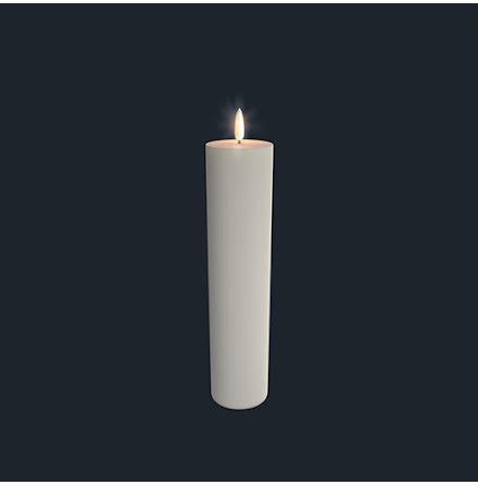 UYUNI Pelarljus LED - IVORY - 5,8 x 25 CM
