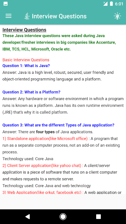 Learn Java - Java Tutorial – (Android Apps) — AppAgg
