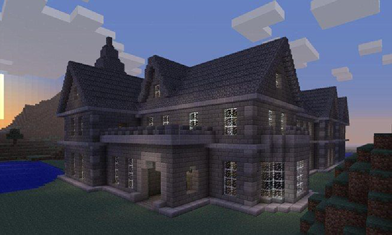 Perfect Minecraft Building Screenshot