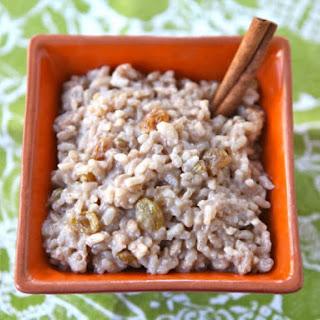 Coconut Chai Rice Pudding.