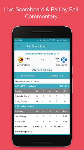 Live Cricket Score 2018 2.2 screenshots 2