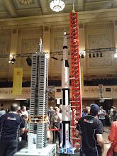 Photo: Big building. Bigger rocket :-)