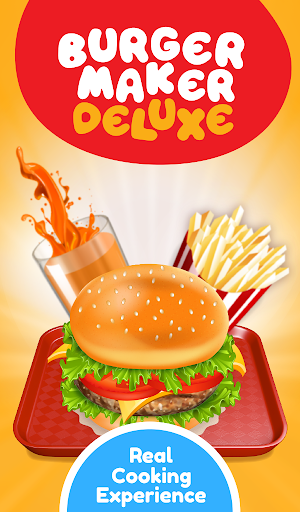 Burger Deluxe - Cooking Games apkpoly screenshots 13
