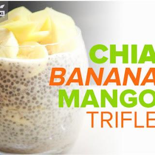 Chai Banana Mango Trifle