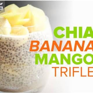 Chai Banana Mango Trifle.