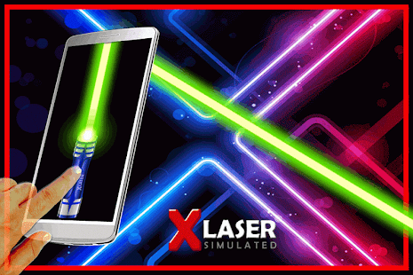 X-Laser Simulated