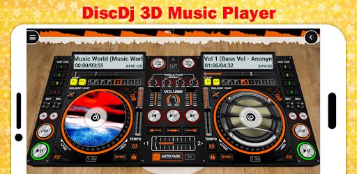 DiscDj 3D Music Player - 3D Dj Music Mixer Studio APK [v4