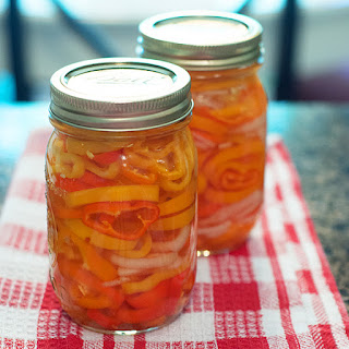 Refrigerator Pickled Peppers.