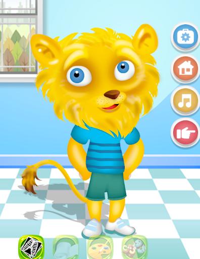 Lion care for kids 1.0 screenshots 5