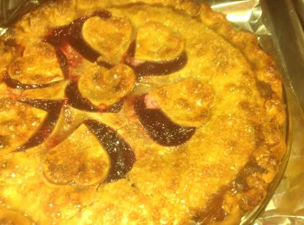 Deep Dish Cranberry Cherry Pie Recipe