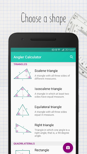 Angler - Camera Geometry Calculator (Beta) 2.0 screenshots 1