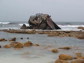 Photo: vraky na pobřeží
