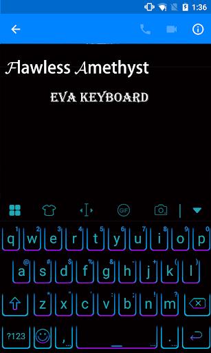 玩免費遊戲APP|下載Flawless Amethyst Eva Keyboard app不用錢|硬是要APP