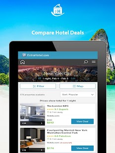 ExtraHotel.com - Hotel Search- screenshot thumbnail