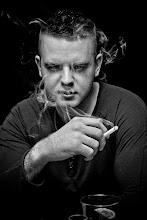 Photo: Smokey...  #monochromephotography #monochromemonday #portraittuesday #portrait #lowkeythursday