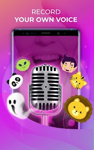 Voice Changer – Amazing Voice with Audio Effects Screenshot