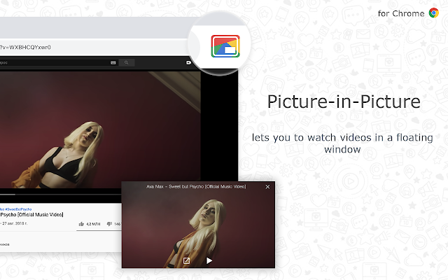 Picture-in-Picture for Chrome