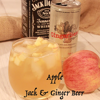 Apple Jack-and-Ginger Beer Cocktail.