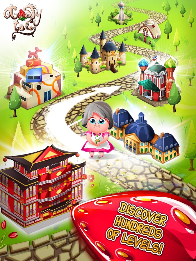 Tasty Tale:puzzle cooking game- screenshot