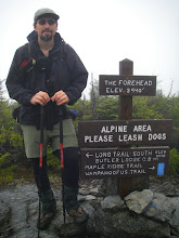 Photo: On the summit of The Forehead, one of Mansfield's subpeaks.