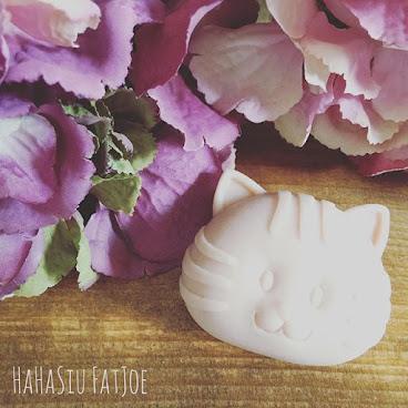 蝦蝦笑肥皂。粉紅玫瑰美白皂