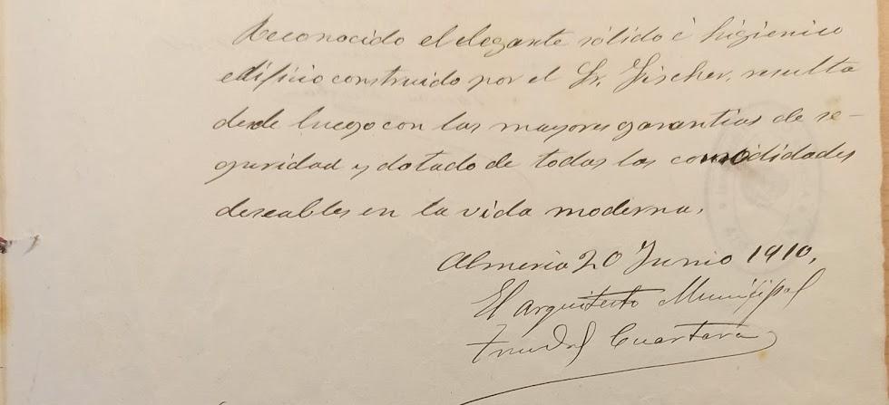 Informe de Trinidad Cuartara sobre Villa Cecilia