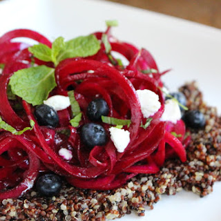 Raw Beet Noodles Recipe