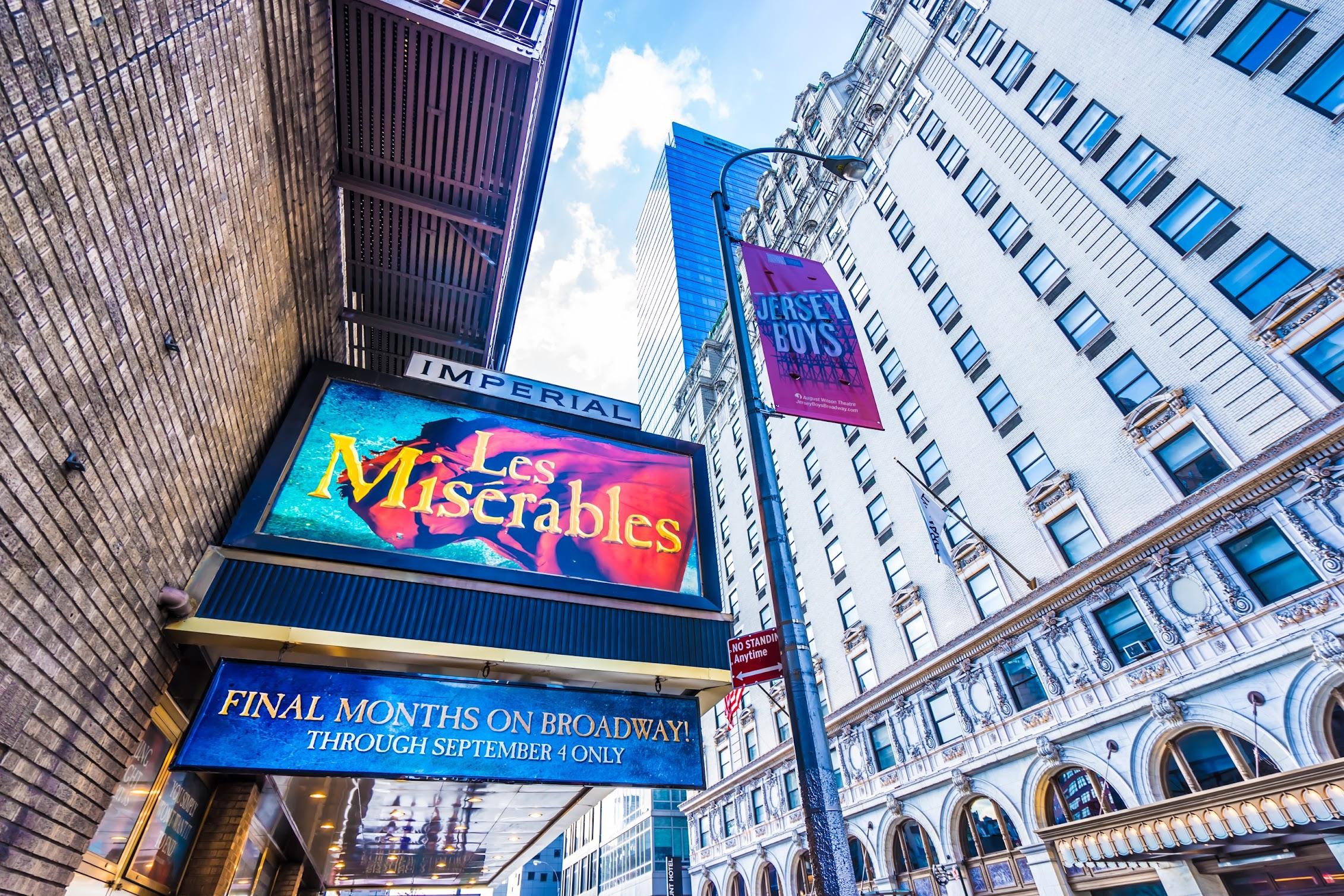 ニューヨーク ブロードウェイ Imperial Theatre1