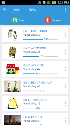 Learn English Vocabulary Game 5.7.9 screenshots 2