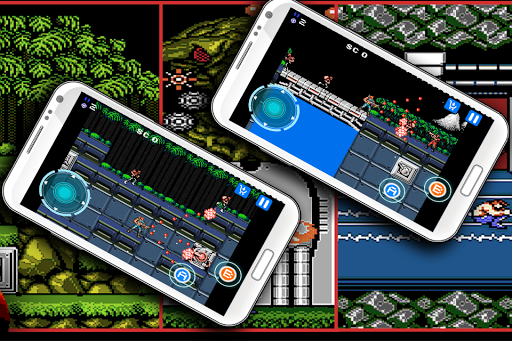 Classic game for contra game (apk) free download for Android/PC/Windows screenshot