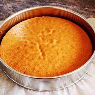 Basic Sponge Cake Base.