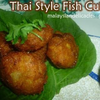 Thai Style Cutlets.
