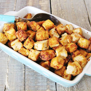 Julie's Super Delicious & Easy Air Fryer Tofu.