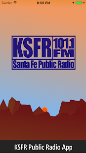 KSFR Public Radio App- screenshot thumbnail