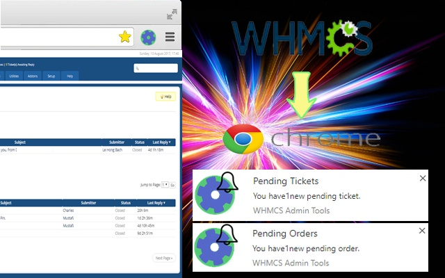 WHMCS Admin Tools - Extended