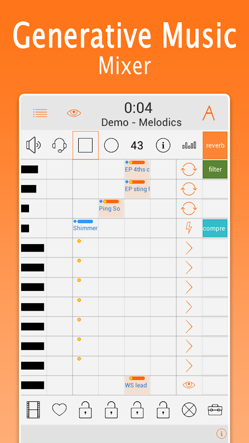 Generative Music Generator- screenshot