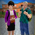 Virtual Hostel Life Simulator: High School Games icon