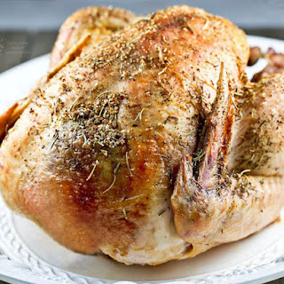 Dry Rub Roast Turkey
